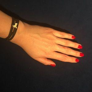 Other - CAPRICORN leather wrap bracelet zodiac astrology